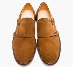Shoe Porn: A.P.C. Suede Double Monk Strap Shoes  - Esquire.com