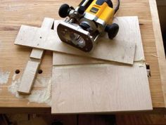 Router Dado Jig. Simple, and should make it much easier to do things like this with the router