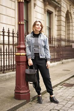 Denim Daily Style - Estée Lalonde