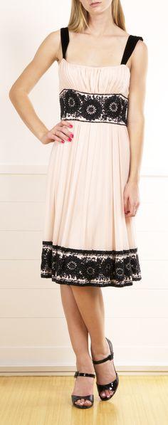 Diane von Furstenberg 'Reseda' Crinkle Chiffon Dress