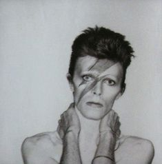 "— David Bowie, ""Alladin Sane Album Outake"", C David Bowie, Brian Duffy, The Nobodies, Aladdin Sane, Major Tom, Life On Mars, Ziggy Stardust, David Jones, Look At You"