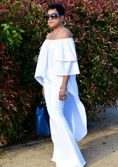 My Daily Threadz — Sewn Magazine January/February Issue All White Outfit, White Outfits, Looks Plus Size, Mode Style, White Fashion, Jumpsuits For Women, African Fashion, Casual Chic, Dress To Impress