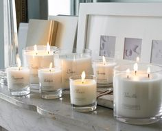 I would rather get candles than flowers....love them. Especially white ones.