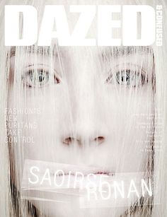 Saoirse Ronan on the Cover of Dazed & Confused April 2013