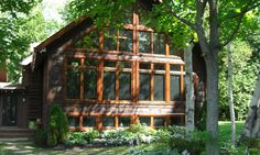 The Sunset | Confederation Log & Timber Frame