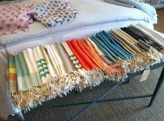Can't get enough of the Fouta guest towel!  #bath #towel