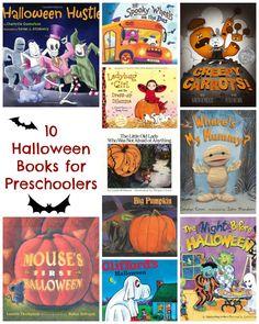 10 Fun Halloween Books for Preschoolers!