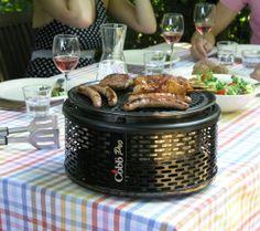 Deze compacte barbecue neem je door het formaat en de draagtas eenvoudig overal mee naartoe #bbq