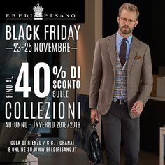 Eredi Pisanò is an important menswear brand, synonym for Made in Italy in America. Discover the latest collection and shop online our tailored suits, accessories and dress shirts. Men's Fashion Brands, Tailored Suits, Black Friday, Suit Jacket, Menswear, How To Wear, Jackets, Shirts, Shopping