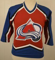 95b4dc0b5 CCM Colorado Avalanche NHL Hockey Jersey Sweater Boys Size Large XL Red   CCM