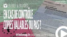 #VIDÉOBRÈVE Vos #papiers : une copie légale ou pas en cas de #contrôle ?: Partir en vacances avec juste une photocopie… pour + d'infos/vidéo