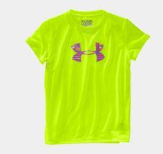 Girls' UA Big Logo Short Sleeve T-Shirt | 1230145 | Under Armour US