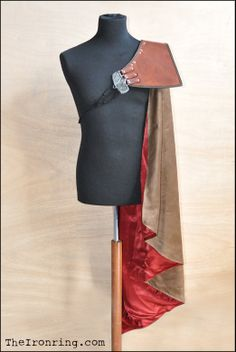 Assassin's Creed II Cape Ezio Auditore for cosplay by TheIronRing