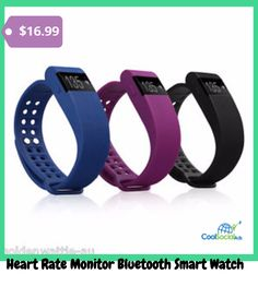 Heart Rate Monitor Bluetooth Smart Watch for more details visit http://coolsocialads.com/heart-rate-monitor-bluetooth-smart-watch-15493