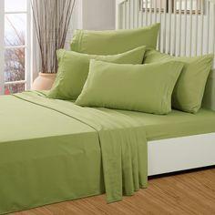 TasteLife 105 GSM Deep Pocket Bed Sheet Set Brushed Hypoallergenic Microfiber 1800 Bedding Sheets