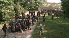 """(Spoilers) Making Of The Walking Dead 4x03 """"Isolation"""" (HD)"""