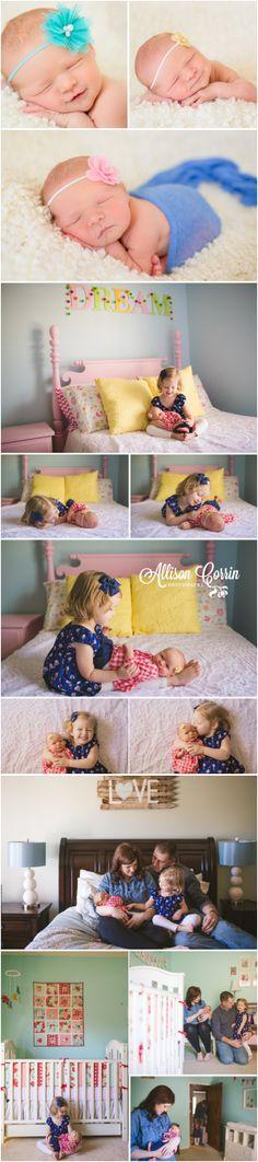 Kansas City Lifestyle Newborn Photographer. Allison Corrin Photography. www.allisoncorrin.com