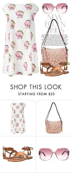 """Flowers & Sea Shells 3349"" by boxthoughts ❤ liked on Polyvore featuring Boutique Moschino, Bueno, Soludos and Blumarine"