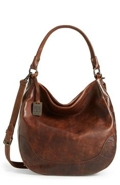 Frye+'Melissa'+Washed+Leather+Hobo+available+at+#Nordstrom