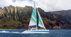 Sailing the Napali Coast of Kauai