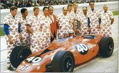 STP Turbine Indy Car. Nice uniforms, Guys!