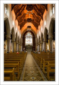 Omagh Sacred Heart Church, Ireland...went to mass here with Vicky one night.
