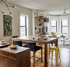Design Brooklyn: An Open Plan Kitchen Wows in a Vintage Park Slope Apartment