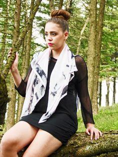 Handmade silk scarf, digitally printed. Designed by Corren Alyssa - www.facebook.com/correnalyssatextiles Handmade Design, Athletic, Silk, Printed, Facebook, Jackets, Fashion, Down Jackets, Moda