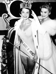 """Terry Lynn Huntingdon became California's first representative to win Miss USA in 1959. Huntingdon had a brief career in television & film, appearing on a comedy show """"You Bet Your Life"""" & in the feature flick, """"The Three Stooges Meet Hercules."""" She later moved to Washington D.C., becoming a freelance photographer for the federal government and working as a scheduler for Senator Gary Hart's presidential campaign. During her time in government, she met and married US Senator, Joseph Tydings."""