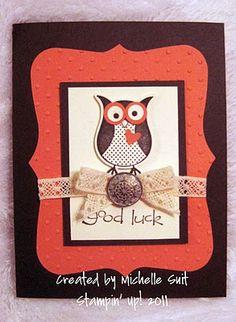 owl stamp stampin up