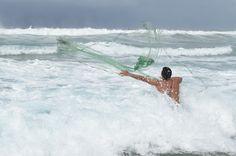 Fisherman at Playa Viva