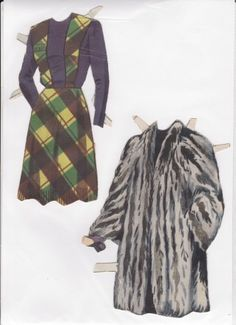 Danish Woman paper doll 7.....SET-60