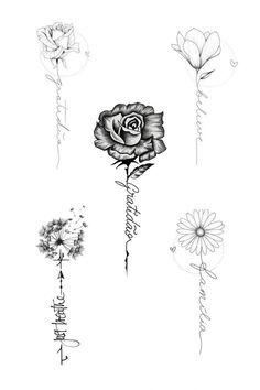 Bff Tattoos, Dainty Tattoos, Little Tattoos, Couple Tattoos, Rose Tattoos, Body Art Tattoos, Hand Tattoos, Sleeve Tattoos, Tattos