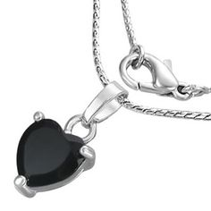 Timeless Classic, Timeless Fashion, Black Love Heart, Daily Fashion, Jewelry Collection, Fashion Jewelry, Pendant Necklace, Chain, Lead Free
