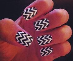 Nails style. Reminds me of Twin Peaks