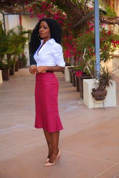 Love her style! Via Style Pantry Love her style! Via Style Pantry Fashion Mode, Office Fashion, Work Fashion, Modest Fashion, Fashion Looks, Fashion Outfits, Womens Fashion, Fashion Trends, Corporate Wear