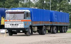 DAF ZV-72-07 2600 Train Truck, Road Train, Huge Truck, Commercial Vehicle, Heavy Equipment, Old Trucks, Buses, Rigs, Volvo