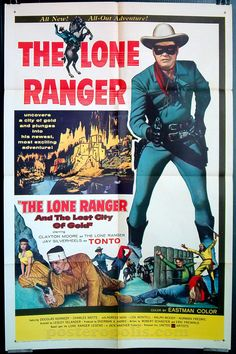 September 14 - Born on this date: Clayton Moore (1914). #claytonmoore #loneranger #movieposter #movieposters