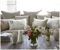 Biggie Best French Decor, French Country Decorating, Home Living, Living Area, Living Rooms, Neutral Couch, South African Design, Take A Seat, French Antiques
