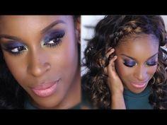 Prom Makeup Tutorial: Dark Eyes | Jackie Aina - YouTube