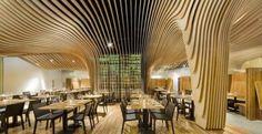 Este fantástico bar-restaurante en EE.UU. está compuesto por dos salas