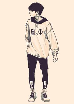Cute lil Jungkook- If anyone knows the artist, please let me know!