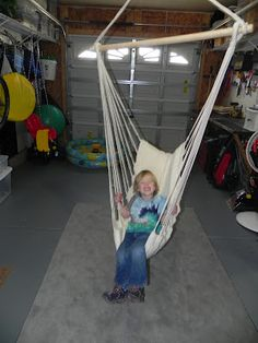 swings with different attachments for play room
