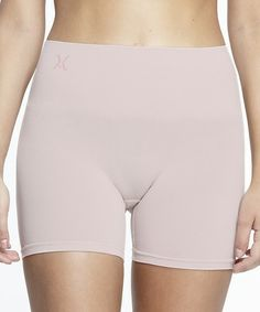 bc8451b79107e yummie by Heather Thomson Hush Nina Seamless Shaping Shorts - Plus Too