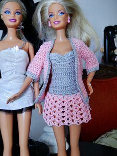 Barbie Crochê Miniaturas e Coisas Mais - De Tudo Um Pouco e Muito Mais: Como Fazer Um Vestido de Crochê Com Passo a Passo ...