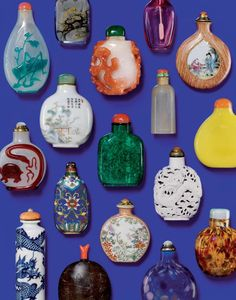 Japanese snuff bottles