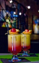 Sweet Sunrise (Virgin Tequila Sunrise--Gingerale instead of tequila)... for the kids at the reception!