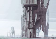 Dishonored Concept Art . Tower
