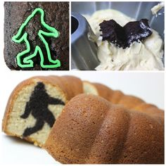 Bundt Cake Tutorial Reveals a Surprise Bigfoot Figure When Sliced Open - My Modern Met