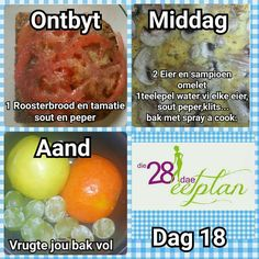 Day 18 Diet Recipes, Snack Recipes, Healthy Recipes, Recipies, 28 Dae Dieet, Dieet Plan, 28 Day Challenge, Dash Diet, Detox Drinks